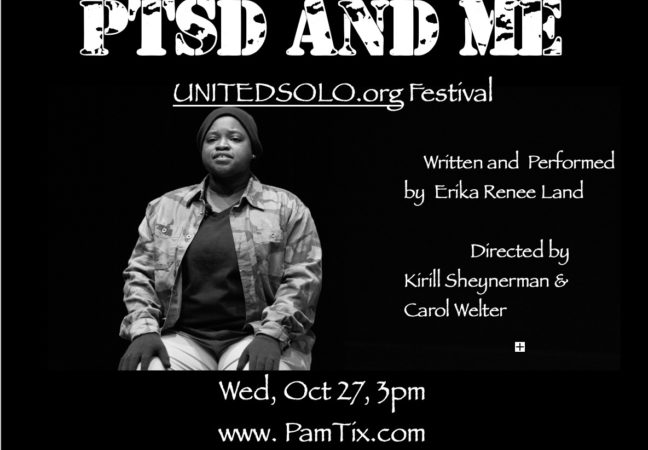 2021 United Solo flyer PTSD and ME